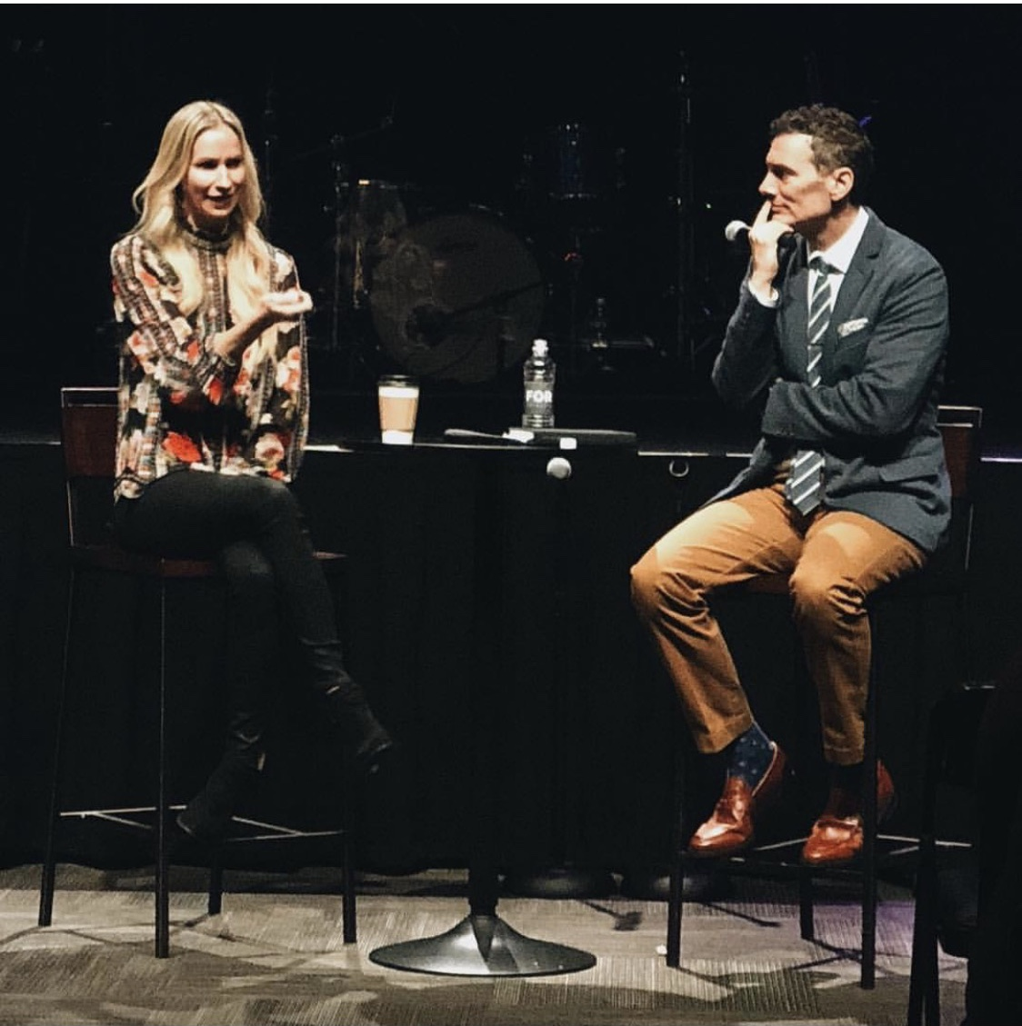 Dana Spinola speaks to Gwinnett Church